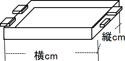 磁石タイプ 採寸